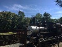 Train at Allaire
